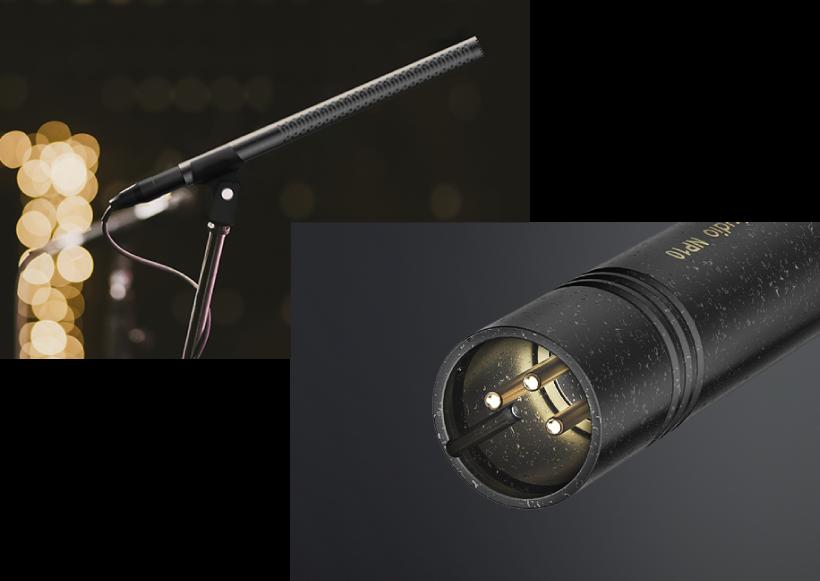 Pozlacený XLR konektor
