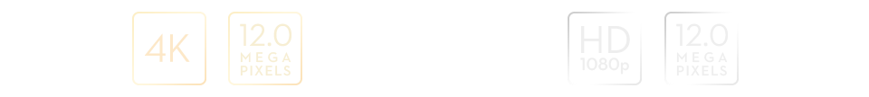Parametry kamery